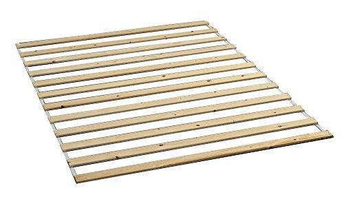Dynamic24 Lattenrost Lasse Kiefer Rollrost Rolllattenrost Bettrost Holzlatten Rost Latten (160 x 200 cm)