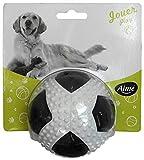 Aimé Pelota de Juguete para Perros con Sonido y Olor A Carne 10 cm, M