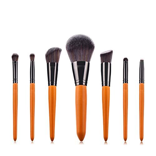 XdiseD9Xsmao 7pcs Pro Doux Maquillage Durable Pinceaux Cosmétiques Mis En Poudre Légère Fondation Fard à Paupières Fard à Paupières Brosse Outil De Beauté