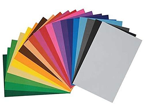 Kadusi Set 20 láminas Goma eva Adhesiva Surtido Colores de 20x30 cm G