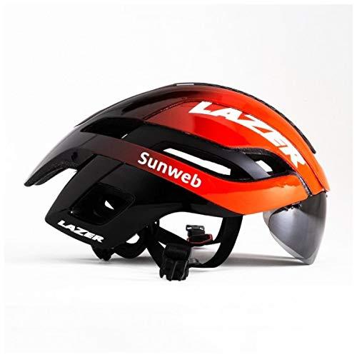 Lazer Casco Bullet 2.0 Team SUNWEB (M) Ciclismo, Adultos Unisex, Multicolor(Multicolor)