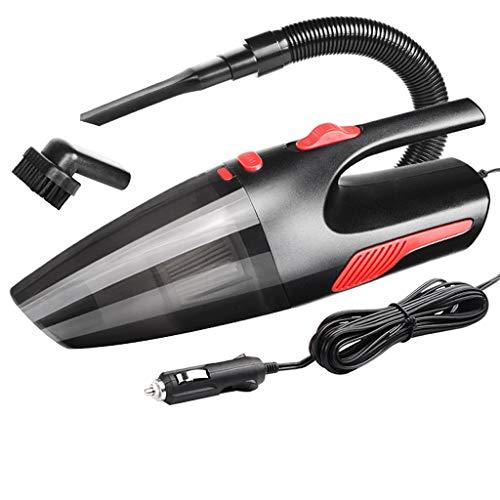 Aspirateur de voiture, aspirateur tenu dans la main portatif CC 12V filaire pour la voiture avec la puissance élevée d'aspiration forte, câble de 5m, petit collecteur de poussière Buster pour l'usage