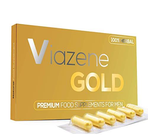 Viazene (6 Kapseln) - Für Aktive Männer 100% Natürliche - Ultrahochfeste Formel