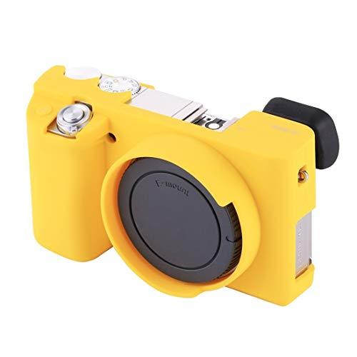 YANTAIAN Accessori della Fotocamera Custodia Protettiva Morbida in Silicone for Sony ILCE-6000 / A6000 (Colore : Giallo)
