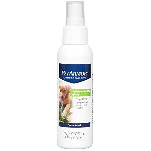 PetArmor Hydrocortisone Spray for Dogs & Cats, 4 oz