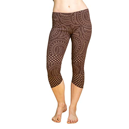 PANASIAM goa Psytrance Leggings 'Lalita', alternatief hippie dameslegging 31/10 4, uit Nepal, in S, M & L