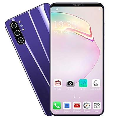 "zmtzl 64GB Smartphone 5.0"" Ultra Display, 24MP Triple AI Cameras, 4000mAh Battery, 4 GB RAM, Dual SIM Unlocked Mobile Phone, MTK Eight-Core Processor"