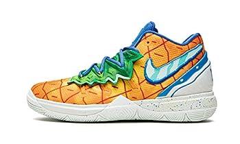 Nike Preschool Kyrie 5 Sbsp  Ps  Spongebob - Pineapple House Cn4501 800 - Size 13C