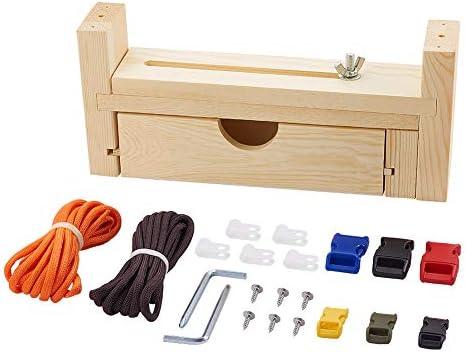 PH PandaHall Paracord Jig Bracelet Kit Adjustable Length Paracord Bracelet Maker Kit for Weaving product image
