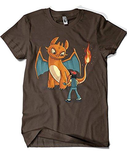 Camisetas La Colmena 1249-Camiseta How To Train Your Monster (Naolito)