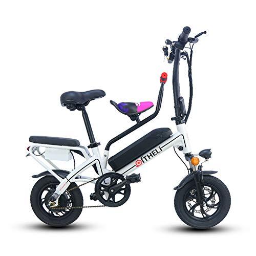 TANCEQI Bicicleta Eléctrica Plegables 350W Motor 25 KM/H Bici Urbana Adulto con...