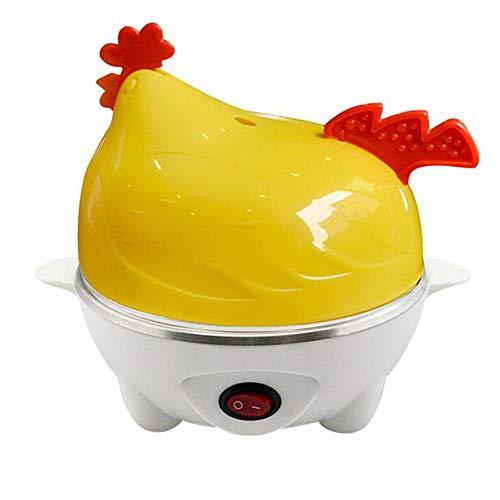 HKDJ mini-kuiken, elektrisch, eierkoker, roestvrij staal en kunststof, capaciteit van 7 eieren, creatief festival, 350 W