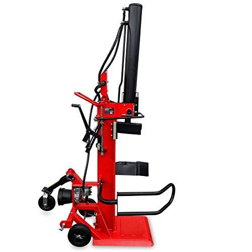 Brennholzspalter Hydraulikspalter 22 Tonnen Spaltkraft einfache Bedienung mobiler Trennspalter für Brennholz