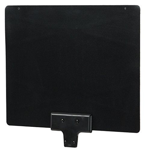 QFX ANT-15 Indoor Ultra Thin Reversible Antenna, Black/White