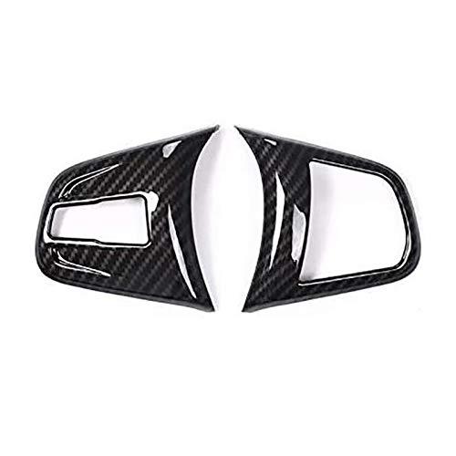 SHOUNAO Ajustar para 2 Series 218i F45 F46 X1 F48 2016-2019 Coche de Fibra de Carbono Volante de la Cubierta de la Cubierta de la Cubierta de Ajuste para X2 F47 2018 2019 (Color Name : Black)
