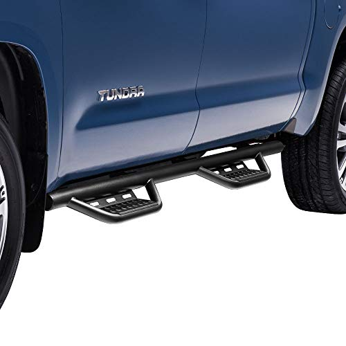 n-FAB Nerf Step RS | 415418312 | Cab Length, fits 15-19 Chevy/GMC Canyon/Colorado Crew Cab 5' Bed, Textured Black