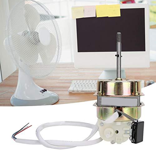 Omabeta Rendimiento Estable y confiable Duradero y Resistente al Desgaste Accesorio del Ventilador Motor del Ventilador Motor del Ventilador con Condensador Cocina de Oficina para el hogar
