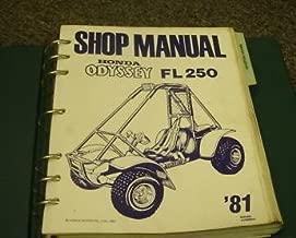 1981 Honda Odyssey FL250 Service Shop Repair Manual OEM