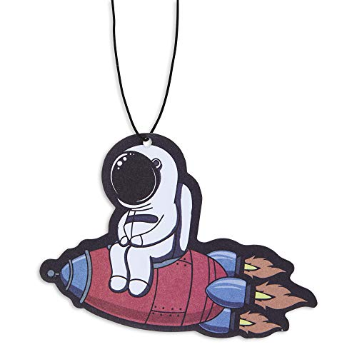 Astronaut Car Air Freshener 3 Pack Scented With Essential Oils By Fresh Fresheners
