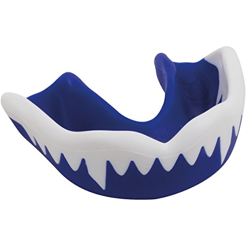 Gilbert Viper - Bucal, Color Azul/Blanco, Talla Junior