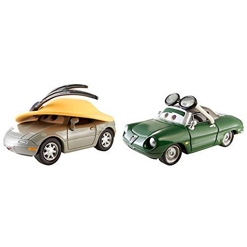 Disney Pixar Cars 2 - Race Team Kimberly Rims and Carinne Cavvy