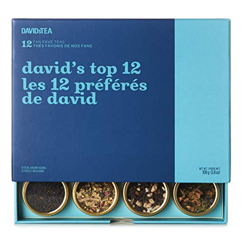 DAVIDsTEA David's Top 12 Tea Sampler