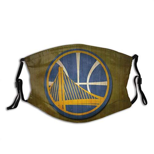 Golden State Warriors Logo 3D-Druck 1 Unisex-Gesichtsdekoration für den Außenbereich