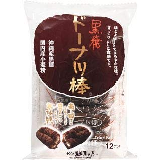 フジバンビ 黒糖ドーナツ棒 12本/袋