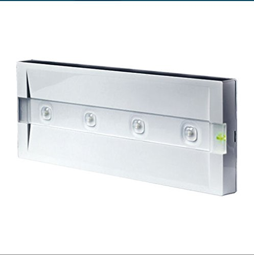 Beghelli BEG824M Plafoniera Emergenza LED, lampada, vetro;policarbonato, acciaio, multicolore