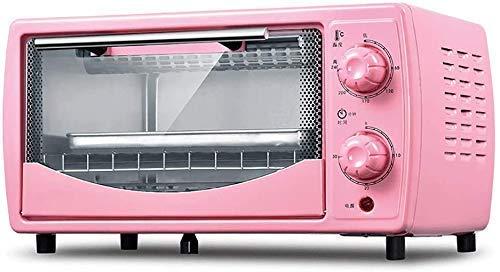 Horno eléctrico,Mini horno eléctrico compacto,Mini horno y parrilla con placas calefactoras dobles,Mini horno con parrilla eléctrica,Mini horno de cocción doméstico,Tiempo de rotación de 30 minutos,Ca