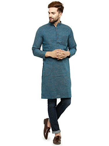 Enchanted Drapes Men's Cotton Regular Kurta