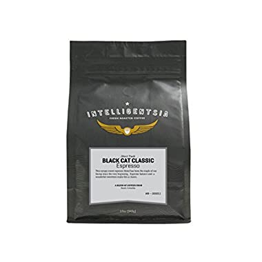 Intelligentsia Black Cat Classic Espresso, Whole Bean Coffee, 12-Ounce