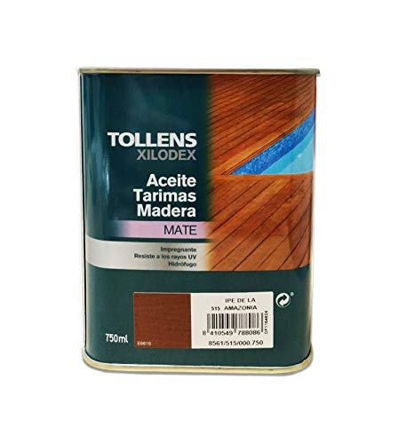TOLLENS - ACEITE TARIMA MADERA IPE DE LA AMAZONIA 4 Lt