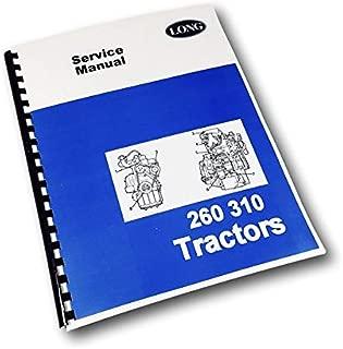 Long 260 310 Tractor Service Repair Shop Manual Technical Shop Book Overhaul