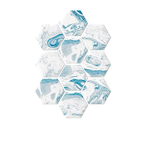 QOXEFPJZ cenefa adhesiva cocina 1 0PCS Pegatinas de azulejos hexagonales Cuarto de agua Etiquetas de pared a prueba de agua, pegatinas del piso Pegatinas de pared resistentes al uso doméstico Autoadhe
