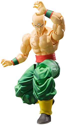 Bandai Tamashii Nations S.H. Figuarts Tien Shinhan Dragon Ball Z Action Figure -  Bluefin Distribution Toys, BAN14344