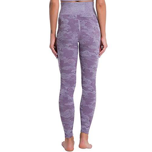 Camo Yoga Polainas Sin Costura Mujeres Push Up Pantalones De Cintura Alta Alta Elástico Legging Deportes Fitness Gimnasio Entrenamiento Desgaste