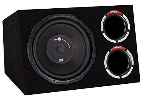 Inex Vibe Slick CBR 12in Einzel Aktiv 900w Max Amplified Auto Audio Sub Subwoofer