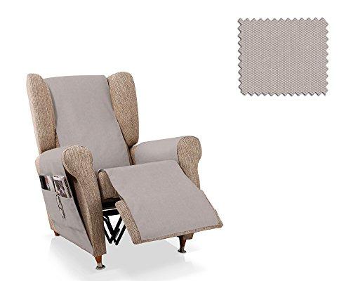 JM Textil Salva Poltrona reclinabile Mowin Dimensione 1 Posto (55 Cm.), Colore 01 (Vari Colori Disponibili)