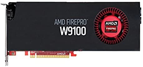 AMD FirePro W9100 Graphics Card - 32GB GDDR5, Black (100-505989)