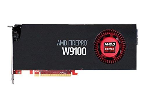 AMD FirePro W9100 32 GB GDDR5 - Tarjeta gráfica (FirePro W9100, 32 GB, GDDR5, 512 bit, 4096 x 2160 Pixeles, PCI Express x16 3.0)