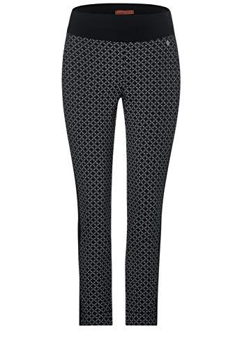 Street One Damen Hose mit grafischem Muster 28