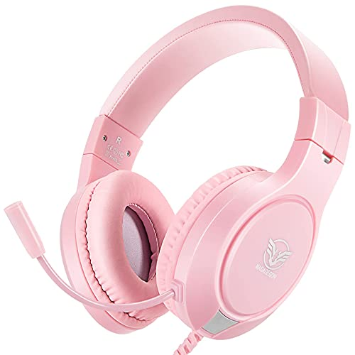 Pink Gaming Headset for Nintendo Sw…