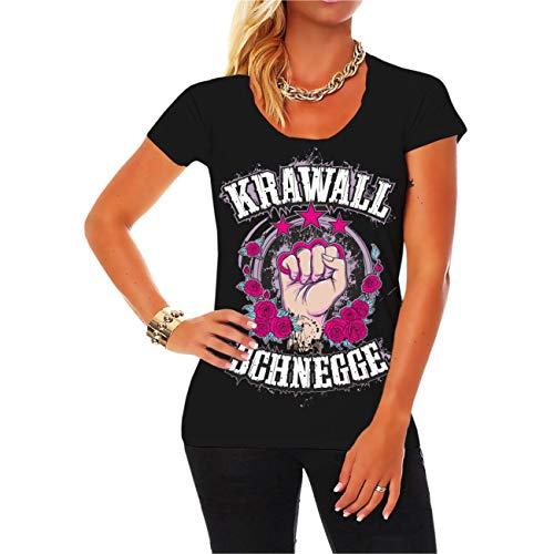 Spaß kostet Frauen und Girls Tshirt Krawallschnegge Größe XS - 5XL
