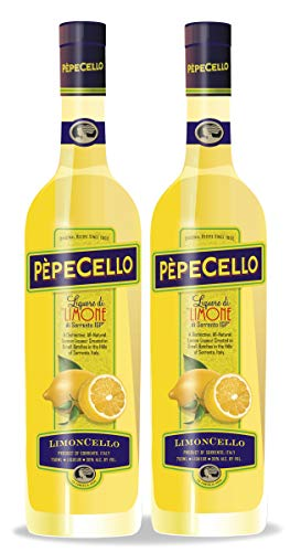 "Limoncello of Sorrento I.G.P.""PèpeCello"" - 2 PACK"