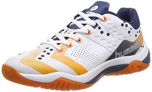 hummel Unisex-Erwachsene DUAL Plate Power Multisport Indoor Schuhe, Blau (Poseidon 8616), 44 EU