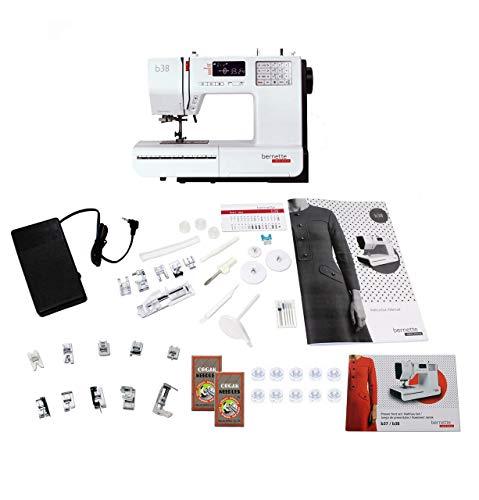 Bernette 38 Swiss Design Computerized Sewing Machine with Bonus Bundle