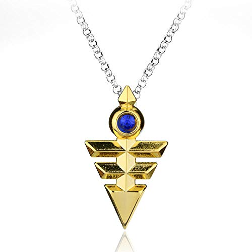 N / A Gothic Necklace 3D Necklace Anime Millenium Pendant Jewelry Cosplay Pyramid Egyptian Eye Of Necklaces Bijouterie-E.