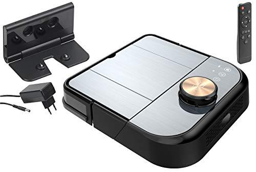 Sichler Haushaltsgeräte Mammifero: Robot aspirapolvere WiFi con funzione di pulizia e pulizia, Sensore laser a 360 ° (aspirapolvere Filtro hepa)