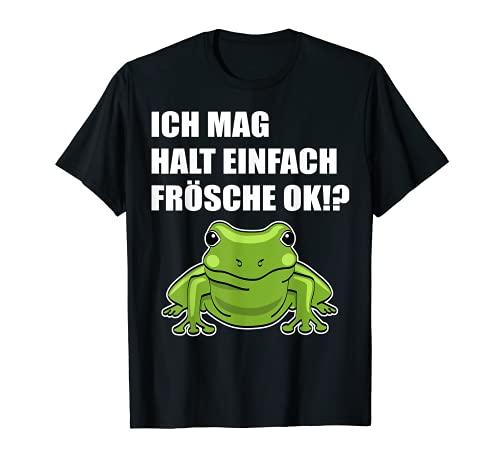 Frosch Laubfrosch Terrarium Zubehör Lustiger Spruch Fun T-Shirt